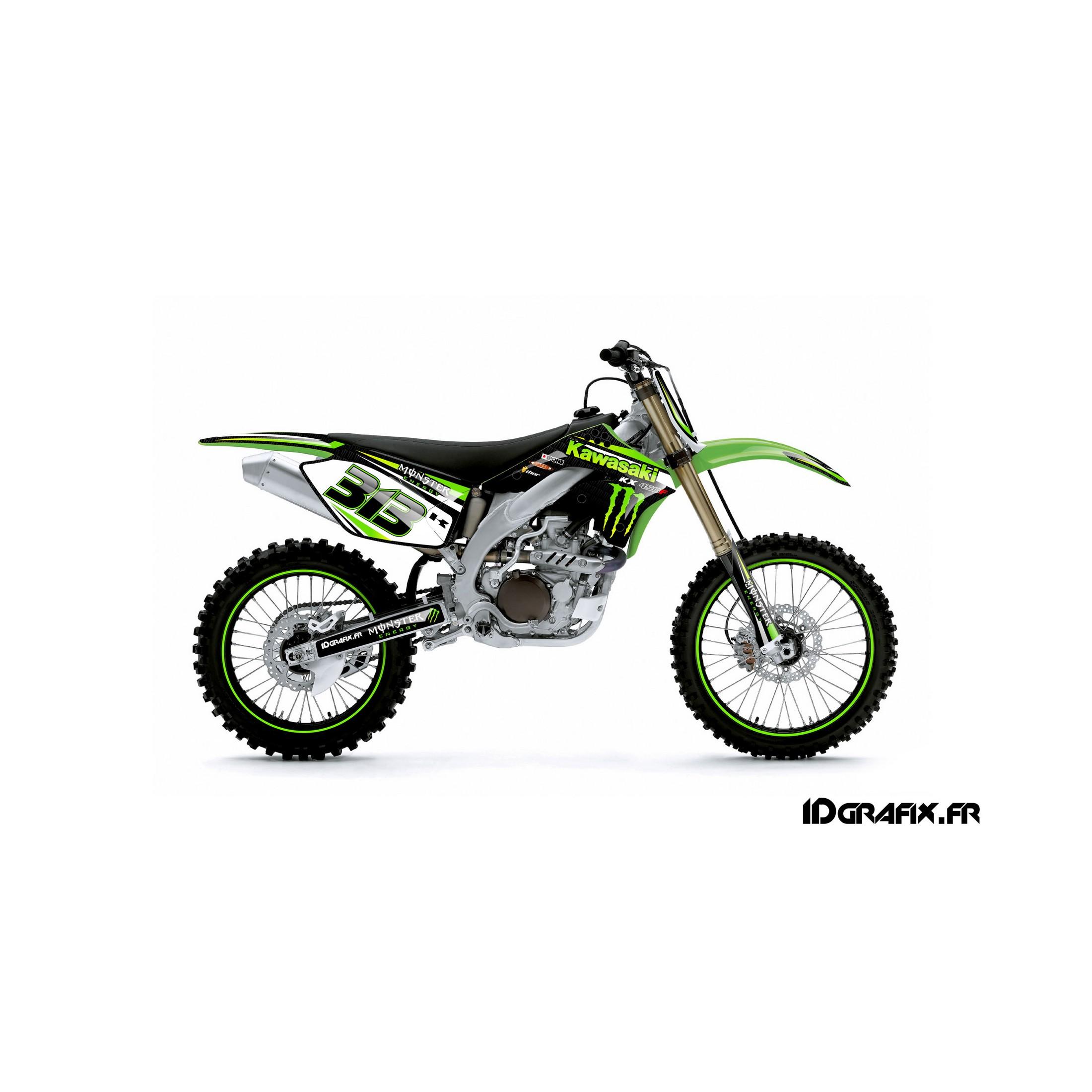 Kit déco Factory series pour Kawasaki KX450