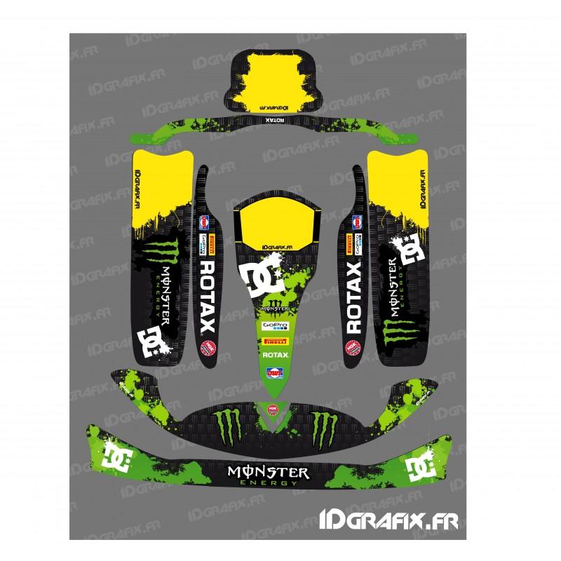 kit deco 100 custom monster fur kart rotax 125
