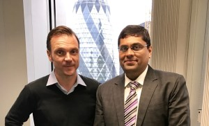Steve Walker & Amit Somaiya in London