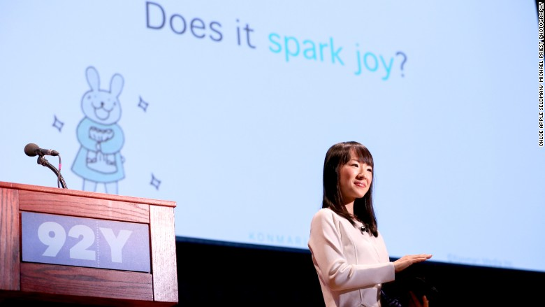 Works tasks spark joy?