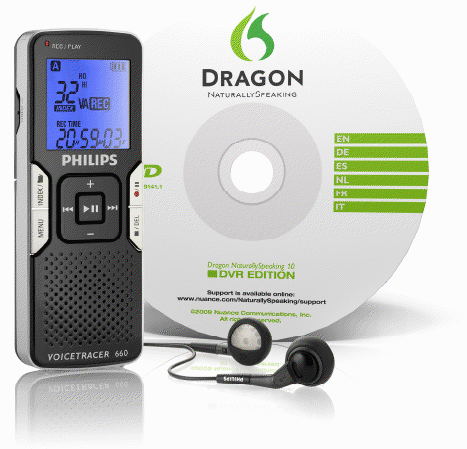Philips Dragon NaturallySpeaking 10 DVR Edition - LFH0660/10