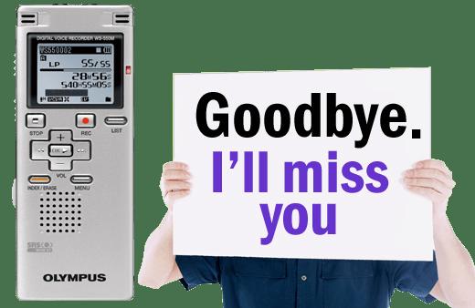 Olympus WS-550M Discontinued in Australia