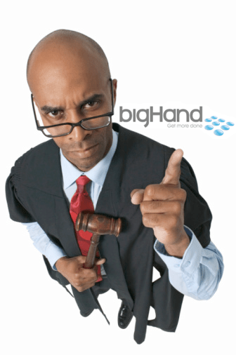 BigHand Legal Digital Dictation Transcription Workflow Solution Australia