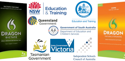 Nuance Dragon Education School NaturallySpeaking Volume Site Licence Australia - How To
