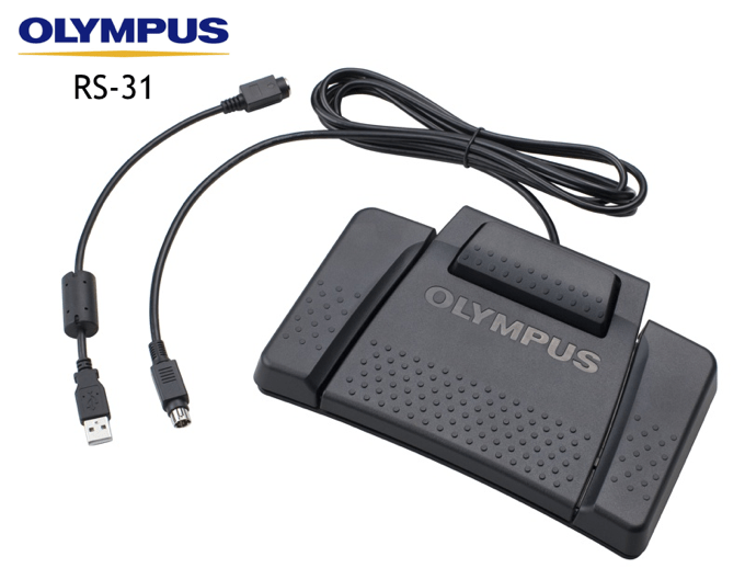 Olympus RS31 Mac Transcription Software USB Foot Control Pedal