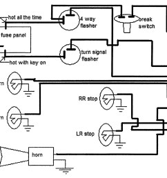 dimmer switch part of multifunction switch here are the diagrams 6 volt turn signal wiring diagram [ 1500 x 1048 Pixel ]