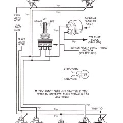 1966 Corvette Turn Signal Wiring Diagram Voltmeter Tech Tips Turnsignalwiringdiagram