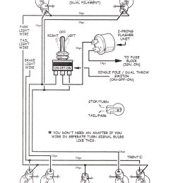 tech tips universal turn signal switch wiring diagram turn signal wiring diagram [ 1405 x 1872 Pixel ]
