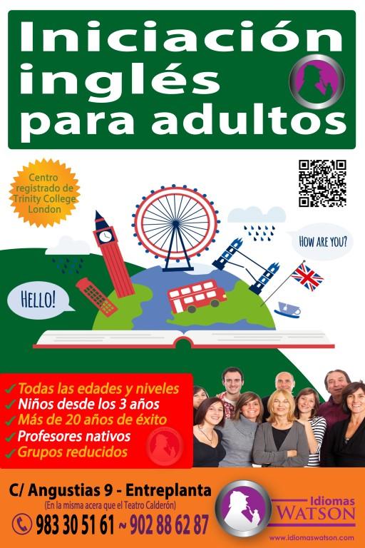 Iniciación de inglés para adultos con Idiomas Watson en Valladolid
