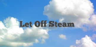 Let Off Steam