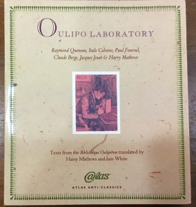 Book cover Oulipo Laboratory