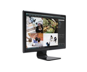 Monitor met IDIS Center
