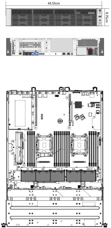 IR-1000 afmetingen