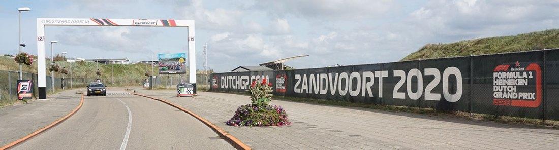 Ingang Zandvoort