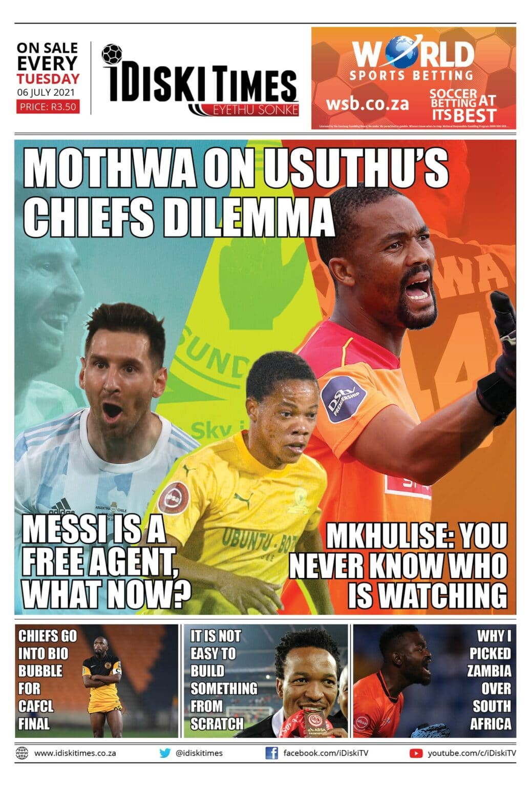 Sep 25, 2021· the former orlando pirates marksman had a quiet afternoon and it was not a surprise that he was substituted in the 63rd minute. iDiski Times Edition 27 Out Now! - iDiski Times