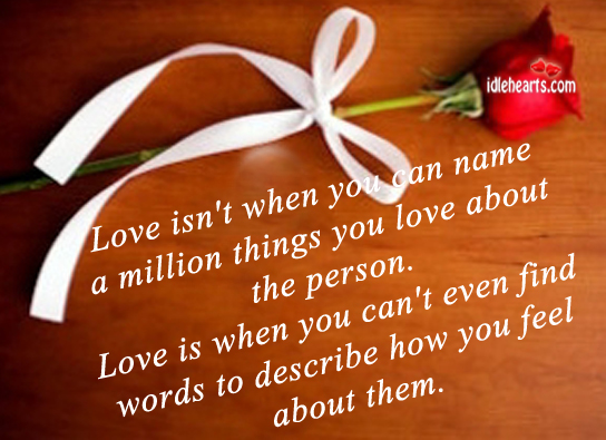 100 words to describe someone you love