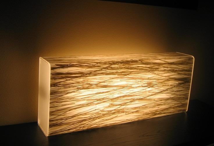 Grass Resin Floor Lamp  iD Lights