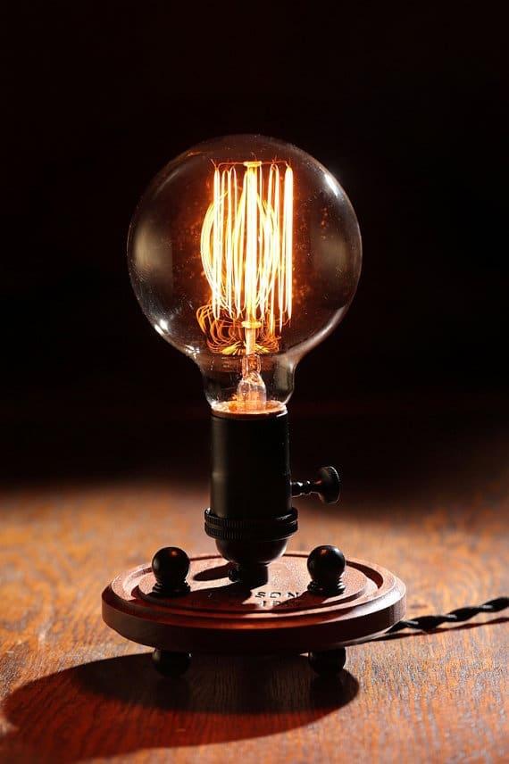 Edison Industrial Table Lamp  iD Lights