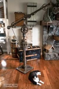 DIY Vintage Big Floor Lamp  iD Lights