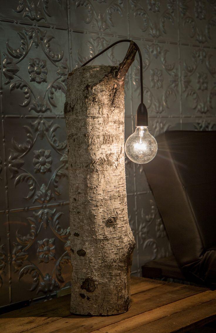 Very Simple Wood Bedroom Desk Lamp  iD Lights