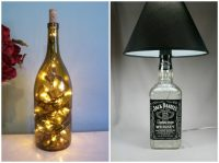 DIY Bottle Lamp: Make a Table Lamp with Recycled Bottles ...