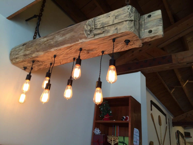 Rustic Pendant Light Shades