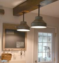 DIY: Galvanized Colanders Ceiling Light Tutorial  iD Lights