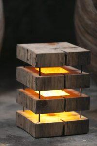 Cute Simple Wooden Floor Lamp  iD Lights