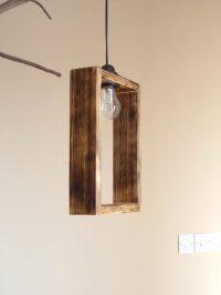 Cute Minimal Wooden Pendant Lighting shade  iD Lights