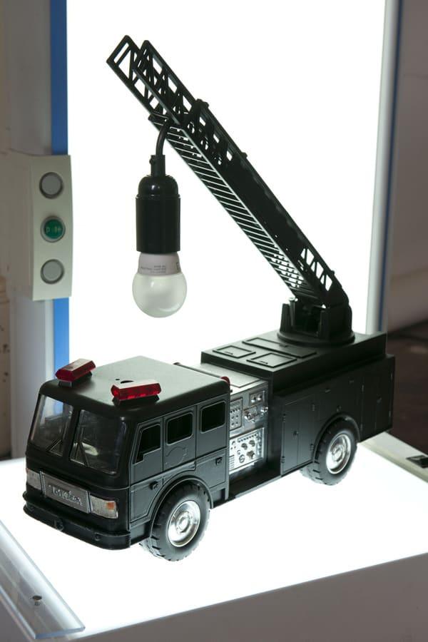 DIY Fire Truck Table Lamp  iD Lights