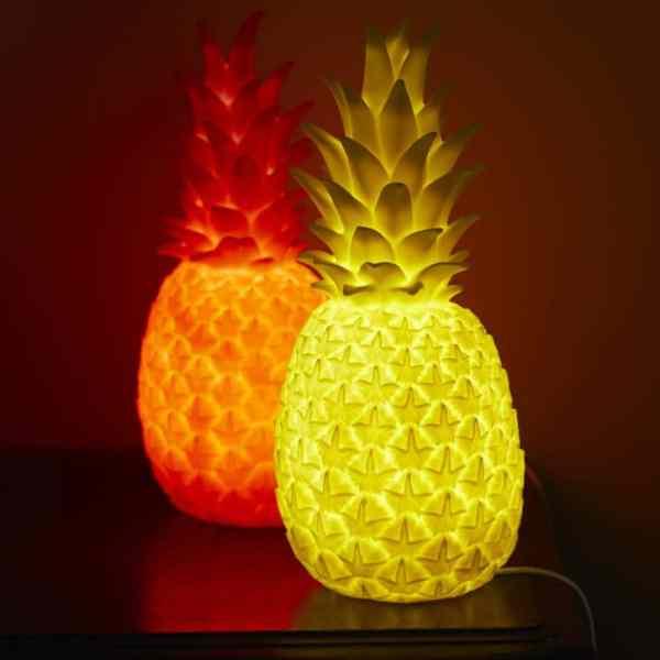 Luminous Pineapple Table Lamps Id Lights
