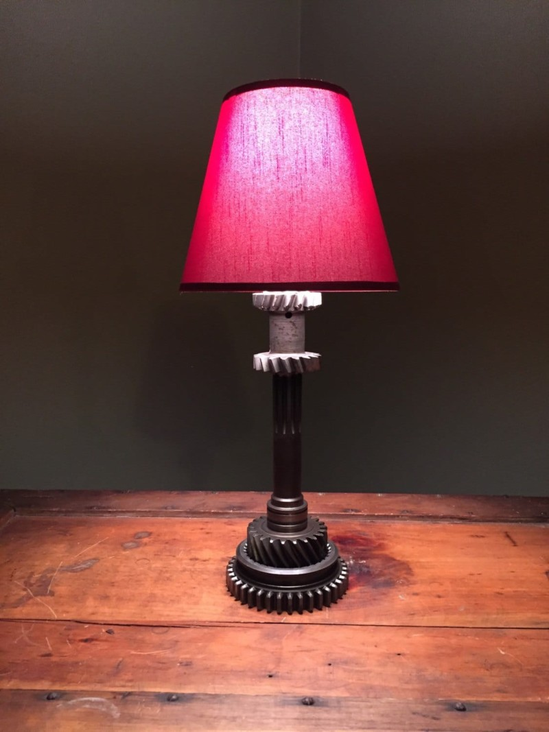 Hot Rod Industrial Table Lamp Id Lights