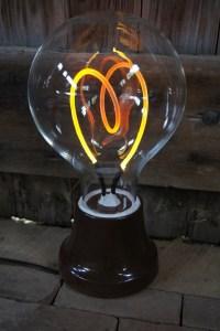Amazing Compact Fluorescent Light Bulb Desk Lamp  iD Lights