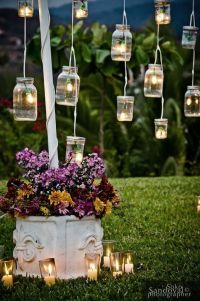 20 Outdoor Lighting Ideas for a Shabby Chic Garden #6 is ...