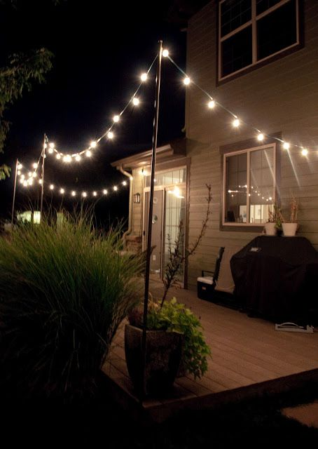 20 Outdoor Lighting Ideas for a Shabby Chic Garden 6 is