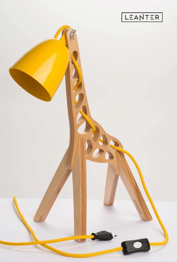 Handmade Kids Giraffe Desk Lamps  iD Lights