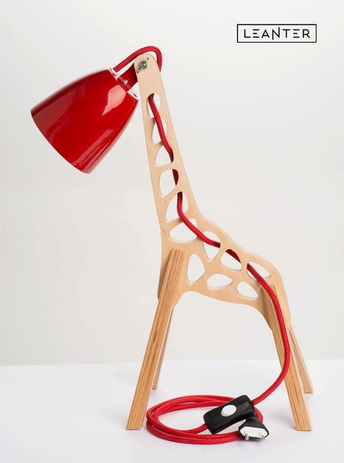 Handmade Kids Giraffe Desk Lamps