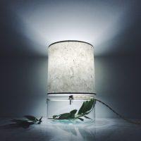 Handmade Terrarium Paper Table Lamp  iD Lights