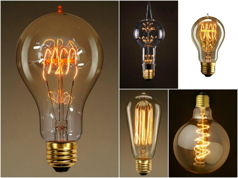 10 Edison Light Bulbs Comparative  iD Lights