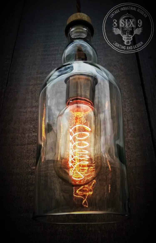 Balvenie Whiskey Bottle Pendant Lighting Id Lights
