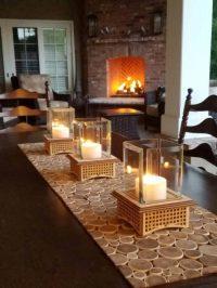 Mini Outdoor Fireplace Kits Tabletop Glass  iD Lights