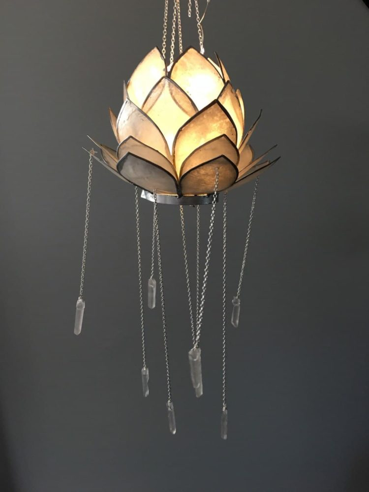 Crystal Lotus Bohemian Chandelier  iD Lights