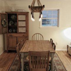 Lights For Kitchen Island Overmount Sink Vintage Farmhouse Ladder Chandelier • Id