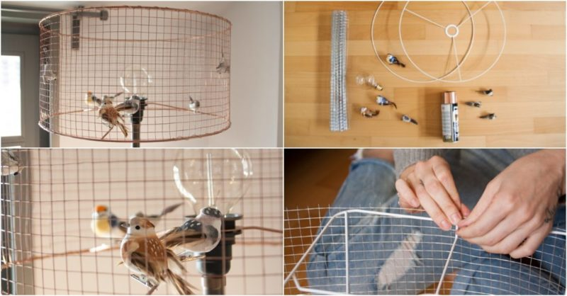 DIY Bird Cage Lamp  iD Lights