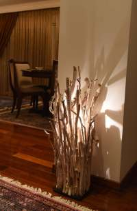 Coastal Driftwood Decor Floor Lamp  iD Lights