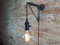 Industrial Hanging Edison Wall Sconce  iD Lights