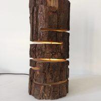 Design Wood Log Lamp  iD Lights