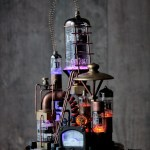 Pure Steampunk Lamp Benjamin Id Lights
