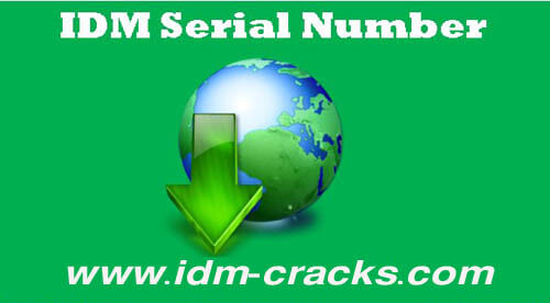 how can i get idm serial number free