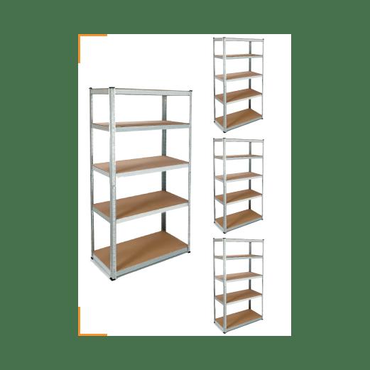 4 etageres modulables charges lourdes pour optimiser le rangement de votre garage